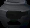 Fragile smelting urn (r) detail