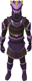 Novite chain armour set (sk) (male) equipped