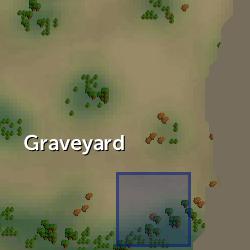 Second stone fragment location
