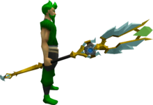 Augmented armadyl battlestaff equipped