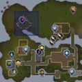 Entrana Dungeon entrance location.png