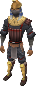 Black Ibis outfit equipped
