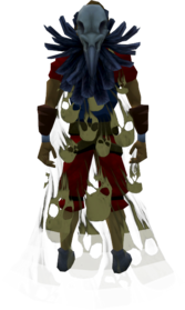 Soul cape (barrows) equipped