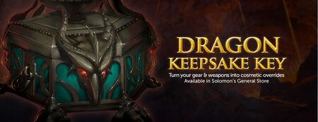 Dragon keepsake box weapon