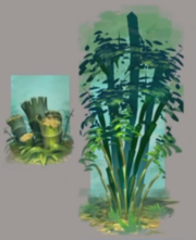 Eastern Lands - Bamboo concept art