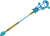Mystic water staff detail