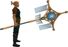 Banner of Armadyl (tier 4) equipped