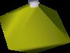 Diamond bauble (yellow) detail