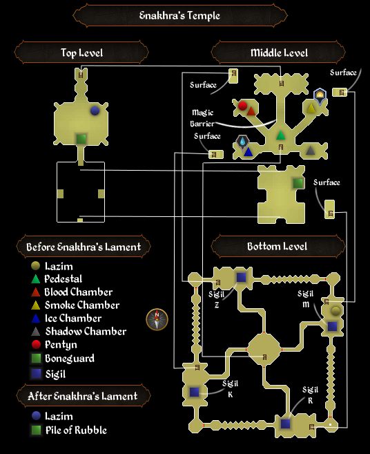 Enakhra's Temple map
