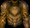 Golden warpriest of Armadyl cuirass detail