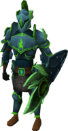 Guthix armour set (lg) male equipped