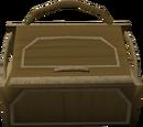 Teak toy box
