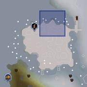 Rellekka Hunter area dungeon entrance location