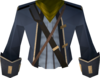 Colonist's coat (green) detail