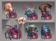 Hermit crab concept art 2
