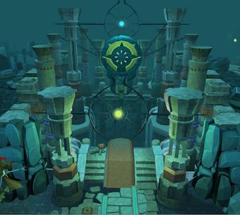 Eyrie entrance