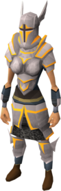 Proselyte armour set (sk) equipped