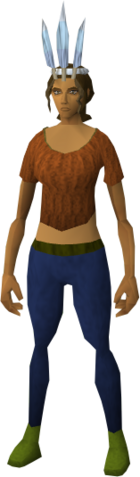File:Chompy bird hat (ogre woodsman) equipped.png
