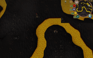 Compass clue Wilderness south of Lava Maze