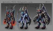 Kril's bodyguards concept art