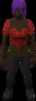 Retro ragged top (female)