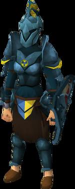 Rune heraldic armour set 3 (sk) equipped