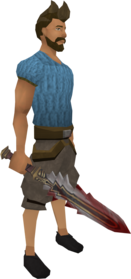 Sunspear equipped