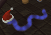Tinsel snake (blue)