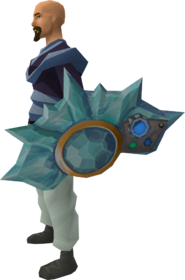 Augmented crystal shield equipped