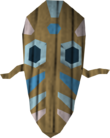 Broodoo shield (blue) detail