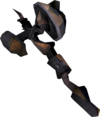 Black guard warhammer (rusty) detail