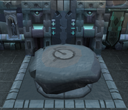 Frozen rc altar