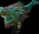 Green zodiac costume