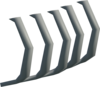 Polished dagannoth ribs detail