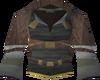 Tribal top (purple) detail