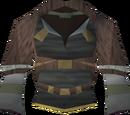 Tribal top (purple)