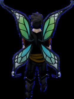 Echo wings (glowing) equipped
