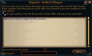 Player mod report 1