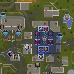 Gem merchant location