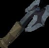 Off-hand bathus battleaxe detail