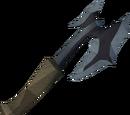 Off-hand bathus battleaxe