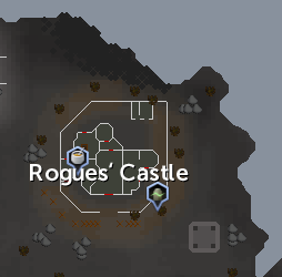 Rogues' Castle map