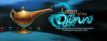 Lamp of the Djinn banner
