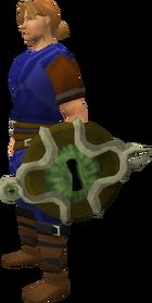 Guardian's ward equipped