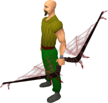 Noxious longbow (blood) equipped