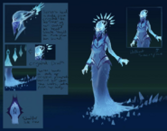 Seren concept art (The Light Within)