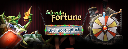 SoF - Get More Spins Banner