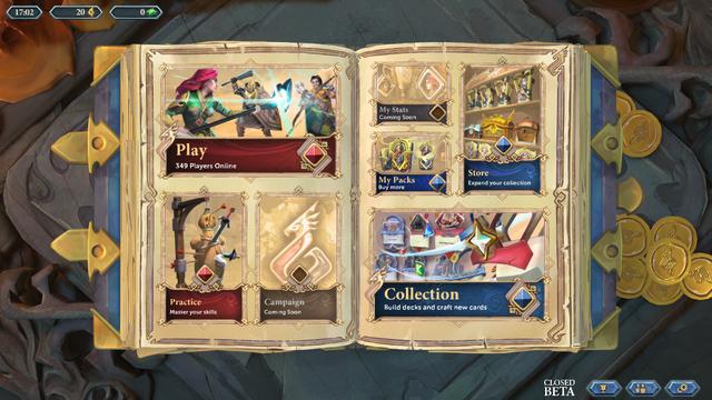 File:Chronicle - RuneScape Legends beta main menu.png