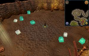 Scan clue Fremennik Slayer Dungeon centre of jelly chamber