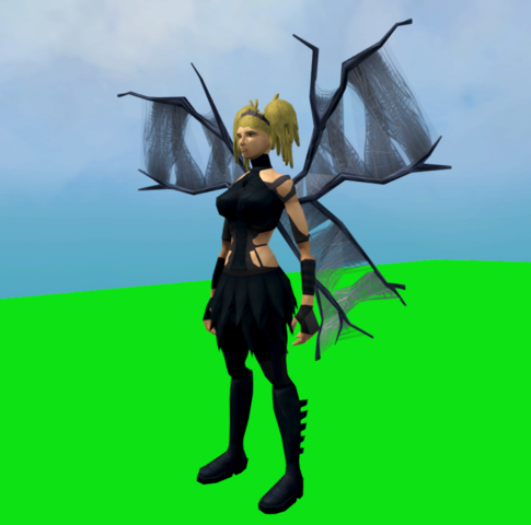 File:Spooky spider outfit equipped (female).png